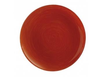 סט 6 צלחות עיקרית ויבראנס אדום לומינארק