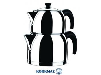 סט קומקומים לתה קורקמז KORKMAZ דגם ״קאפה״ Kappa