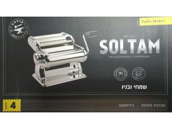 מכונת פסטה סולתם להכנת פסטה טרייה בבית בפשטות ובמהירות