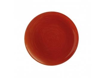סט 6 צלחות ראשונה ויבראנס אדום לומינארק