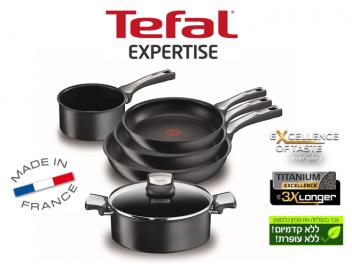 מארז 6 חלקים Tefal Expertise Titanium טפאל