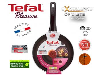 מחבת Tefal סדרת  פלז׳ר Pleasure קוטר 24 ס
