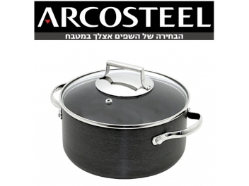 סיר 3.6 ליטר יהלום  ARCOSTEEL DIAMOND קוטר 24 ס