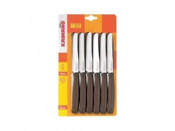 3 סט 6 סכיני קאימנו Kaimano תוצרת איטליה