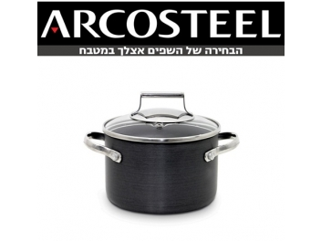 סיר 2 ליטר ARCOSTEEL DIAMOND  יהלום קוטר 16 ס