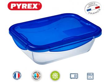 קופסאת אחסון פיירקס נפח 1.9 ליטר מרובעת קוק אנד גו Cook&Go