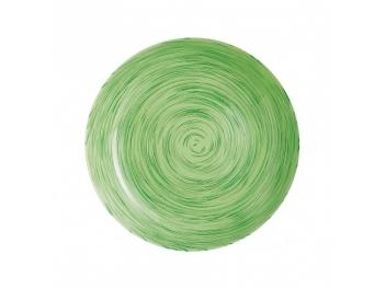 סט 6 צלחות עיקרית ויבראנס ירוק לומינארק