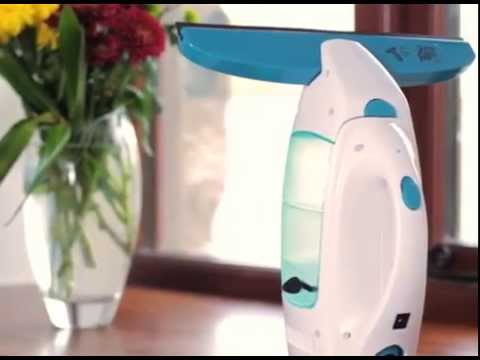 סט מנקה חלונות חשמלי LEIFHEIT עם מסבן/מקרצף דגם 51002 +מוט 1.9 מטר מחיר בטלפון