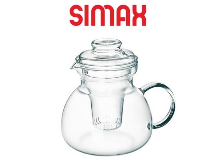 קנקן זכוכית לחליטת תה 1.5 ליטר  סימקס SIMAX