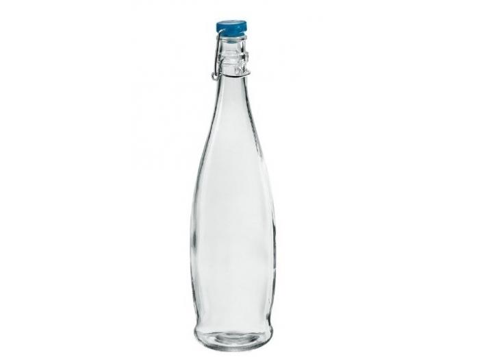 בקבוק מים הרמטי Decover בנפח 1 ליטר חלק זכוכית