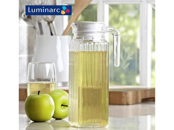 קנקן זכוכית לומינארק דגם קוואדרו 1.3 ליטר