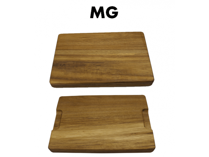 """קרש חיתוך MG עבה עשוי במבוק במידות 40X30X4 ס""""מ"""