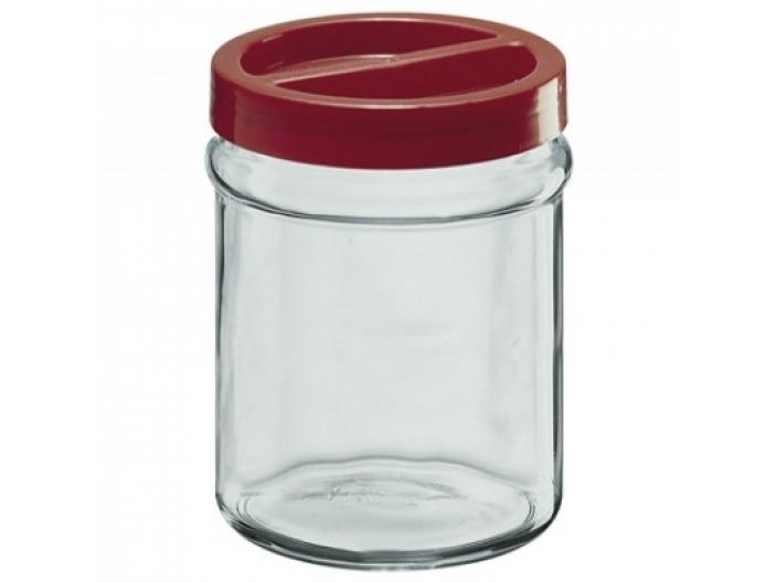 צנצנת הברגה+מכסה אדום 3.5 ליטר קורטינה חסר במלאי