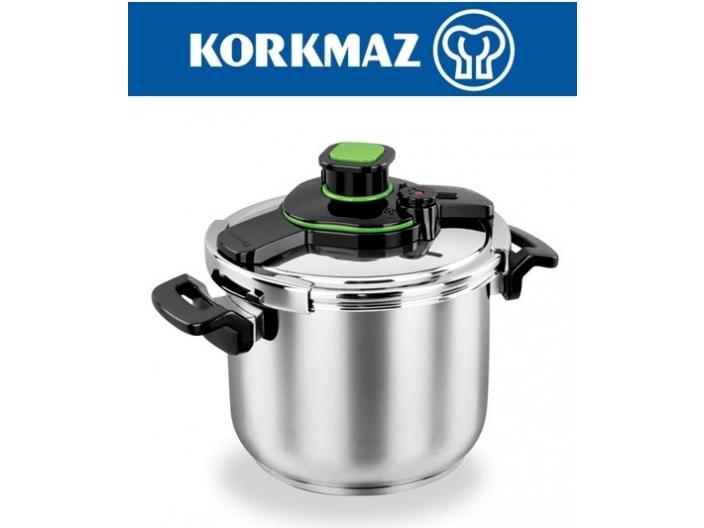 סיר לחץ KORKMAZ בנפח 10 ליטר קורקמז