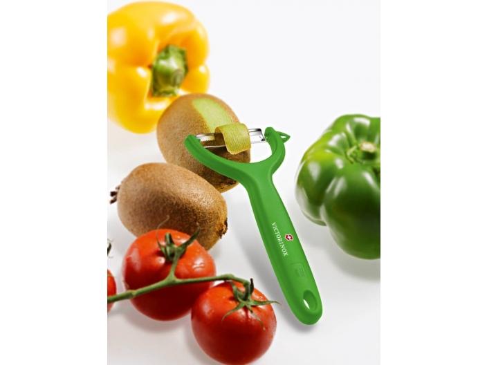 קולפן ירקות Victorinox רחב ירוק ויקטורינוקס