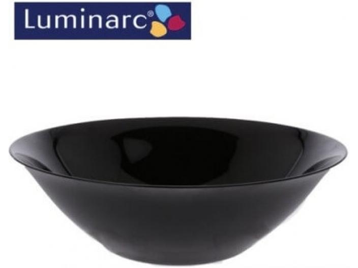 קערה לומינארק קארין שחור 27 ס״מ