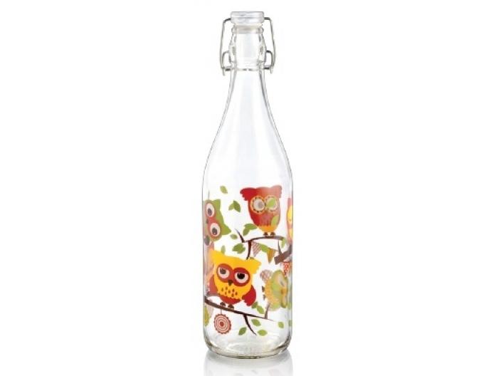 בקבוק מים הרמטי Decover בנפח 1 ליטר ינשוף