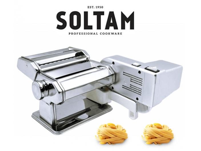 ערכה להכנת פסטה סולתם Master Pasta Motor Soltam הכוללת מנוע חסר