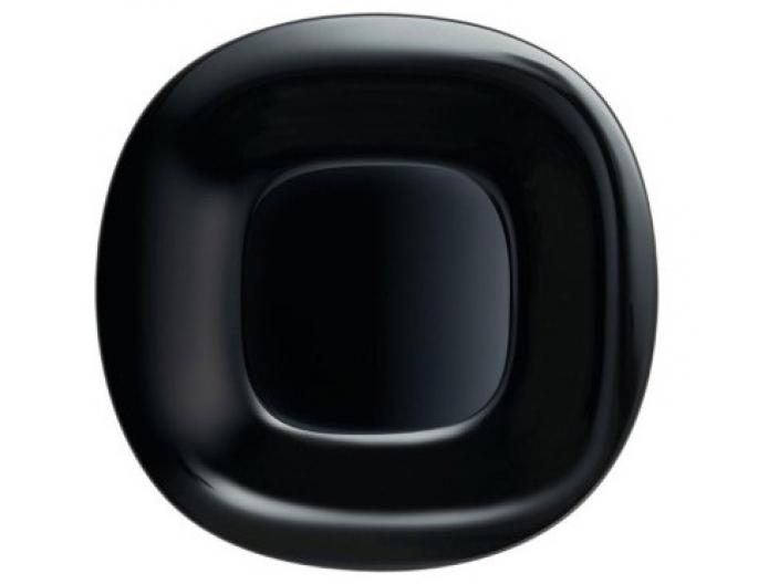 סט 6 צלחות מנה עיקרית דגם קארין שחור