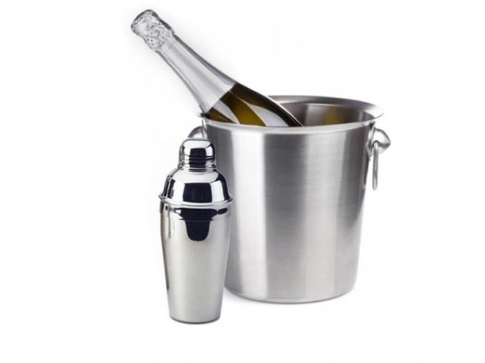 סט משובח להגשת אלכוהול שמפניירה שייקר