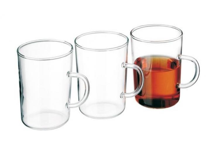 סט 6 כוסות מזכוכית דקה סימקס SIMAX דגם חלק 0.2 ליטר