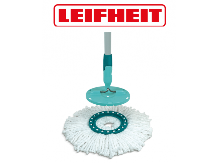 ראש סחבה למגב Clean Twist Mop LEIFHEIT לייפהייט  עגול 52095