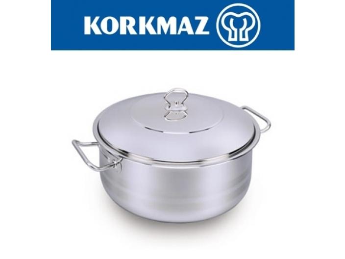 """סיר עמוק 30 ליטר KORKMAZ קוטר 40 ס""""מ קורקמז"""