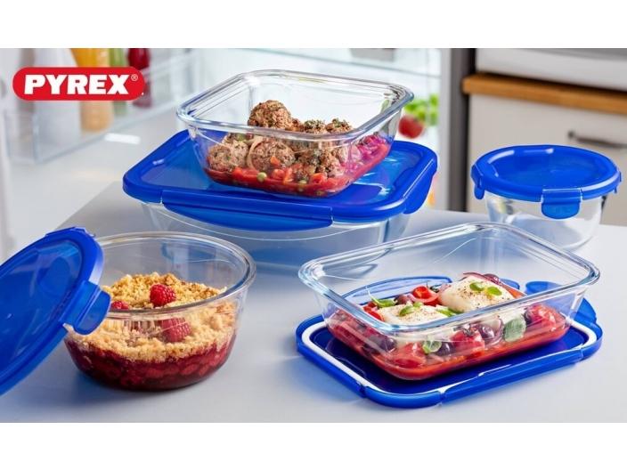 סט 10 חלקים פיירקס Pyrex Cook And Go קוק אנד גו זכוכית