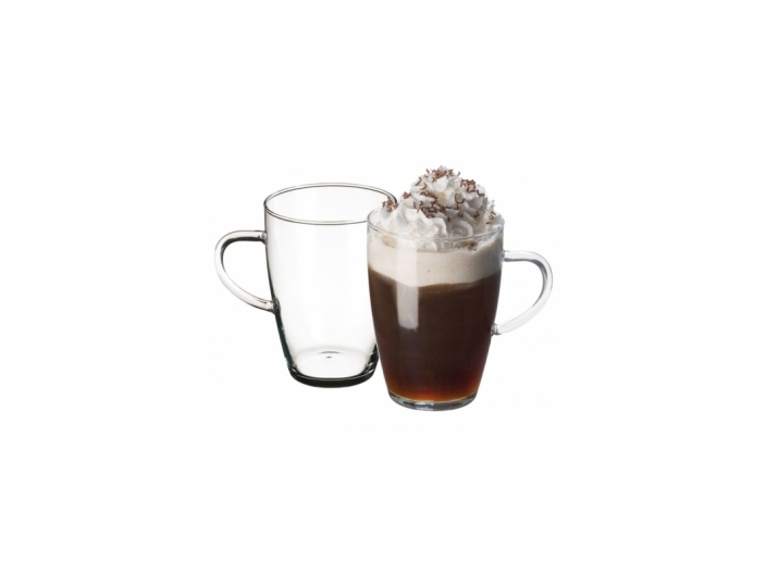 סט 4 כוסות מזכוכית דקה  סימקס SIMAX דגם ליארה