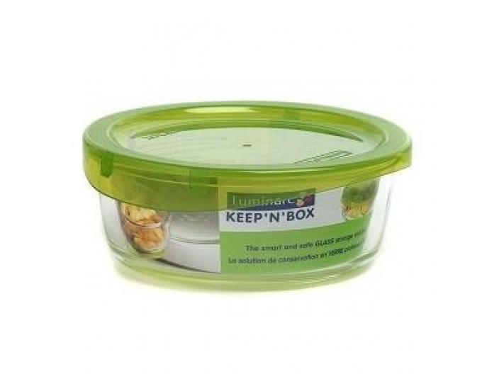 """קופסאת אחסון עגולה 420 מ""""ל קיפ לומינארק KeepN"""