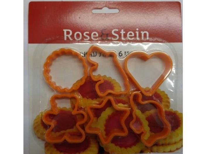 סט 6 חותכני עוגיות Rose&Stein