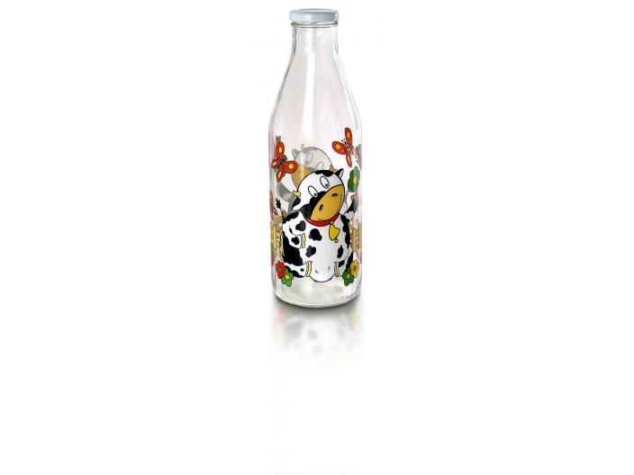 בקבוק חלב פרה בטבע Decover