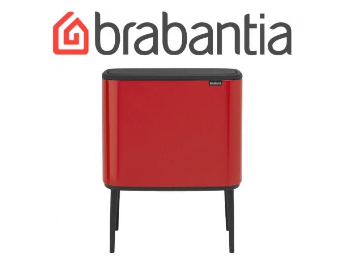 BO פח טאץ 36 ליטר, אדום תשוקה Brabantia