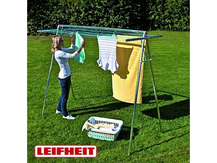 מתקן מתקפל לייבוש כביסה LEIFHEIT גרמניה