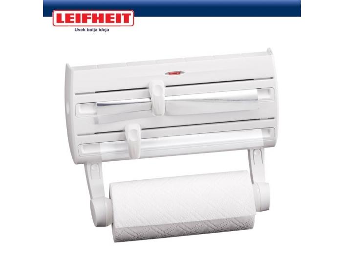 מתקן משולב לניילון אלומיניום ונייר למטבח LEIFHEIT מבצע 03-9447171 או 03-6839338