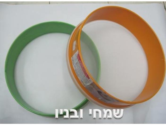 """נפה לקמח משי קוטר 26 ס""""מ תוצרת ישראל"""