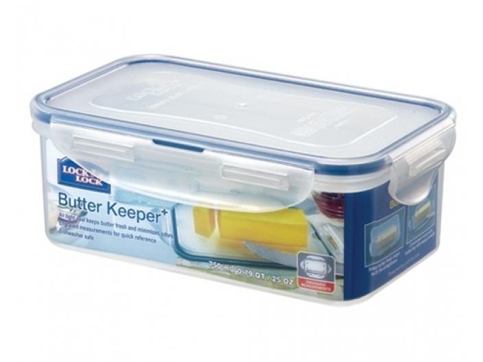 קופסאת אחסון LOCK&LOCK לחמאה לוק אנד לוק 750 מ״ל