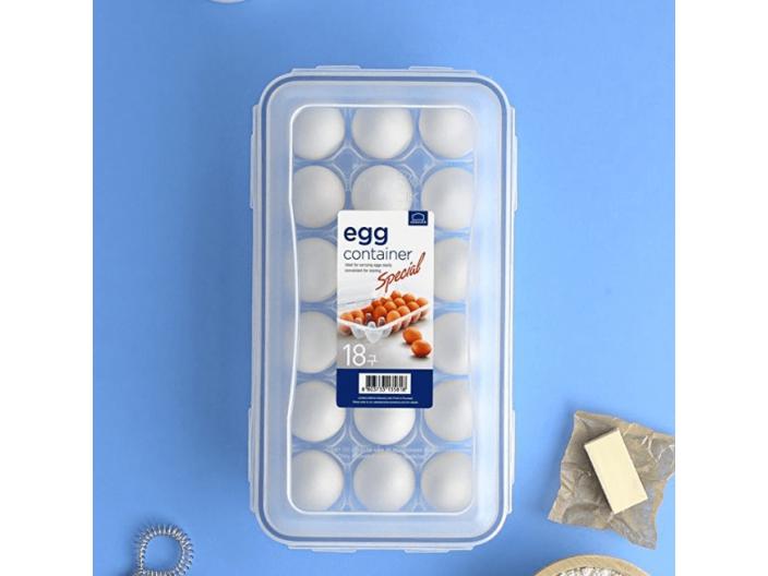 קופסאת אחסון LOCK&LOCK ל-18 ביצים לוק לוק