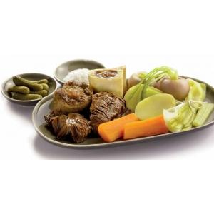 נזיד בקר עם ירקות pot-au-feu