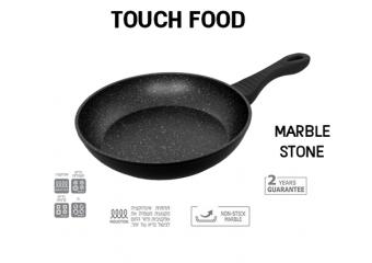 מחבתות TOUCH FOOD מסדרת שיש Marble Stone