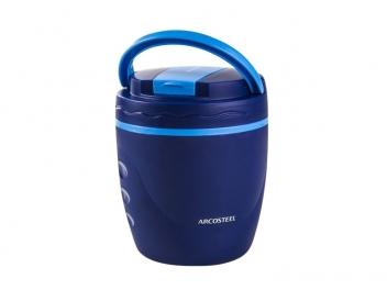 טרמוס אוכל ארקוסטיל 1 ליטר + ידית נשיאה כחול