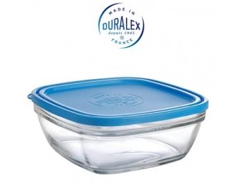 קופסאת אחסון דורלקס Duralex נפח 1.15 ליטר זכוכית