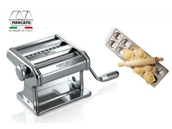 מכונת פסטה מרקטו אמפיה 150 עם מגש רביולי 12 שקעים