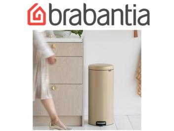פח פדל 30 ליטר זהוב מינרלי Brabantia - NewIcon