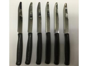 סט 6 סכיני קאיימנו צבע שחור Kaimano
