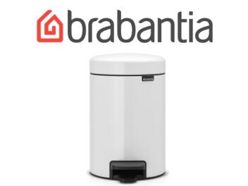 פח פדל 3 ליטר לבן Brabantia - NewIcon + שקית אשפה ברבנטיה מתנה