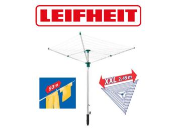 מתקן לייבוש כביסה לגינה LEIFHEIT דגם LINOTREND 500 יבואן רשמי