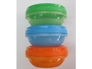 קופסאת פלסטיק מכסה הברגה 0.25 ליטר