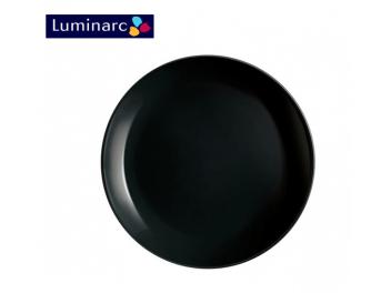 סט 6 צלחות מנה עיקרית לומינארק דיואלי שחור