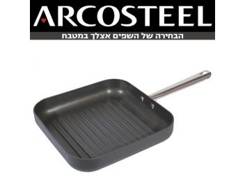 מחבת גריל הארדאנודייז ארקוסטיל יהלום 28 ס